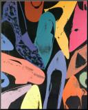 Chaussures poussière de diamant 1980 (lilas, bleu, vert)