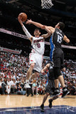 Kirk Hinrich and Hedo Turkoglu Photographic Print