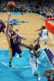 Los Angeles Lakers v New Orleans Hornets - Game Four, New Orleans, LA - April 24: Pau Gasol and Eme