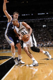 Memphis Grizzlies v San Antonio Spurs - Game One, San Antonio, TX - April 17: Tim Duncan and Marc G