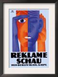 Reklame Schau Framed Art Print