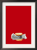 Food Supply Program in Practice Framed Art Print