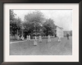 Girls Play Croquet at Carlisle Indian School Photograph - Carlisle, PA