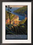 Buy La Riviera Italienne: From Rapallo to Portofino Travel Poster - Portofino, Italy at AllPosters.com