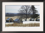 Continental Soldiers' Cabins Reconstructed at the Valley Forge Winter Camp, Pennsylvania