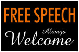 Free Speech Always Welcome