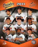 2011 Baltimore Orioles Team Composite