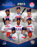 2011 Texas Rangers Team Composite