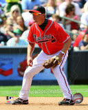 Chipper Jones 2011 Action