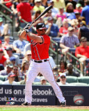 Dan Uggla 2011 Action