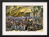 Capture and Burning of Washington D.C. by the British in 1814