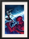 The Mighty Avengers #16 Cover: Daredevil and Elektra