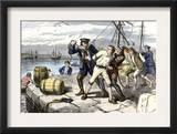 American Sailors in Boston Impressed Into Service of the British Navy Before the War of 1812