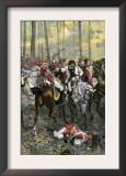 Combat during the Battle of Cowpens, c.1781