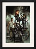 Black Widow: Deadly Origins #1 Cover: Black Widow, Bucky and Wolverine
