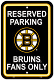 Boston Bruins Parking Sign
