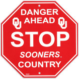 University of Oklahoma Stop Sign