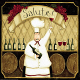 Kitchen Favorites: Salute Art Print