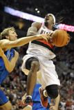 Dallas Mavericks v Portland Trail Blazers - Game Six, Portland, OR - APRIL 28: Gerald Wallace and D