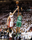 Boston Celtics v Miami Heat - Game Two, Miami, FL - MAY 03: Ray Allen and Mike Bibby