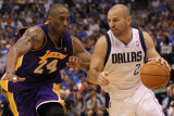 Los Angeles Lakers v Dallas Mavericks - Game Four, Dallas, TX - MAY 08: Jason Kidd and Kobe Bryant