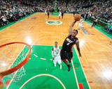 Miami Heat v Boston Celtics - Game Four, Boston, MA - MAY 9: LeBron James and Rajon Rondo