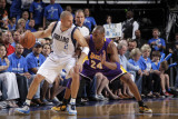 Los Angeles Lakers v Dallas Mavericks - Game Four, Dallas, TX - MAY 8: Jason Kidd and Kobe Bryant