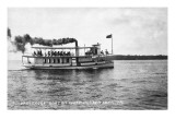 West Okoboji Lake, Iowa - Passenger Boat Queen