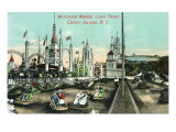 Coney Island, New York - Luna Park; View of Witching Waves