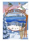 Lake Tahoe, CA Winter Views