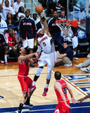 Chicago Bulls v Atlanta Hawks - Game Six, Atlanta, GA - MAY 12: Josh Smith, Joakim Noah and Kyle Ko Photographic Print