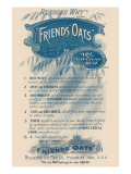 Reasons Why Friends' Oats Are the Best