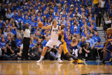 Los Angeles Lakers v Dallas Mavericks - Game Three, Dallas, TX - MAY 6: Dirk Nowitzki and Lamar Odo