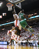 Boston Celtics v Miami Heat - Game Five, Miami, FL - MAY 11: Kevin Garnett and Joel Anthony