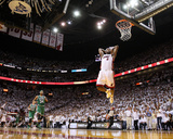 Boston Celtics v Miami Heat - Game Five, Miami, FL - MAY 11: LeBron James