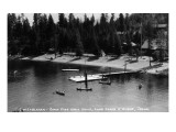 Buy Idaho - Lake Coeur d'Alene; Camp Sweyolakan at AllPosters.com
