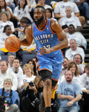 Oklahoma City Thunder v Memphis Grizzlies - Game Three, Memphis, TN - MAY 7: James Harden Photographic Print