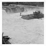 Celilo Falls on the Columbia River, 1954
