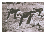 Football Players, Early 1900S