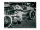Harry Hartz and #14 Racecar, 1919