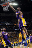 Los Angeles Lakers v New Orleans Hornets, New Orleans, LA - APRIL 22: Kobe Bryant Photographic Print