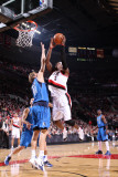 Dallas Mavericks v Portland Trail Blazers - Game Three, Portland, OR - APRIL 21: Gerald Wallace and