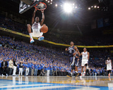 Memphis Grizzlies v Oklahoma City Thunder - Game Seven, Oklahoma City, OK - MAY 15 : Kevin Durant Photographic Print