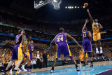 Los Angeles Lakers v New Orleans Hornets, New Orleans, LA - APRIL 22: Emeka Okafor and Andrew Bynum