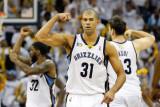 Oklahoma City Thunder v Memphis Grizzlies - Game Six, Memphis, TN - MAY 13: Shane Battier