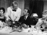 Jean Gabin, Philippe Noiret, Liselotte Pulver and Berthe Granval: Monsieur, 1964