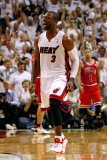 Chicago Bulls v Miami Heat - Game Four, Miami, FL - MAY 24: Dwyane Wade, Drrick Rose