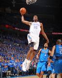 Dallas Mavericks v Oklahoma City Thunder - Game Four, Oklahoma City, OK - MAY 23: Kevin Durant and