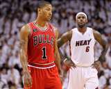 Chicago Bulls v Miami Heat - Game Three, Miami, FL - MAY 22: Derrick Rose