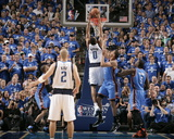 Oklahoma City Thunder v Dallas Mavericks - Game Two, Dallas, TX - MAY 19: Shawn Marion, Thabo Sefol